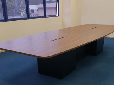 CBM (Woodlands Loop) - Boat-shaped Conference Table