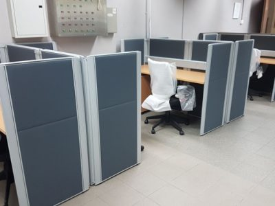 Chiong Construction - DP26 System Furniture Workstation