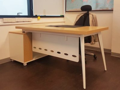 Hai Nei Contractors - BA Series Executive Desk with Built-in Modesty Panel