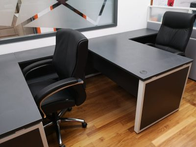 Cavi Busyway - BO Series Work Desk with Side Cabinets