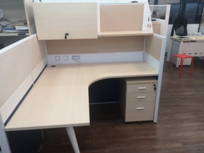 Imagination Works - T40 Workstations with Hanging Shelf & Cabinet