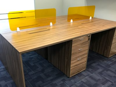 In-Style Creative Concepts - Cluster of 4 Workstation