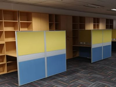 Phillips Securities for Instyle Creative - T40 Series with Swing Door Cabinet and Open Shelving