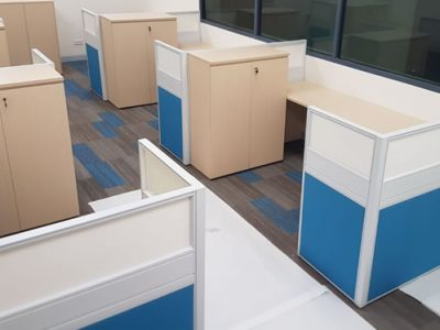 Temasek Polytechnic Phase 1A for Logistics Construction - T40 Series Workstations