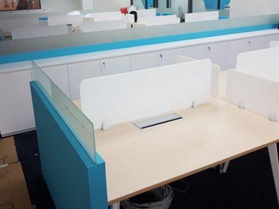Mentor Media - BA Series System Furniture Workstation