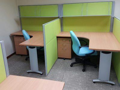 MyWorld Preschool - DP26 System Furniture & SITRO Mid-Back Office Chair