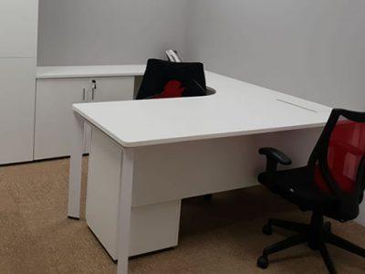 OLS Manufacturing - DE Series L-shaped Work Desk