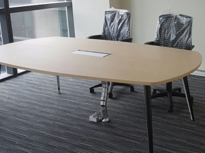 Obllique Pte Ltd - BA Series Oval-shaped Conference Table