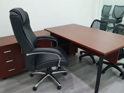 Yong Tai Holdings - DE Series Director's Desk with Side Cabinet