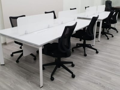 Yong Tai Holdings - DE Series System Furniture with Acrylic Desktop Panel