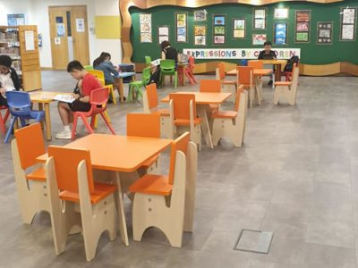 Causeway Point Children's Library - Customised Children Table and Chairs Set