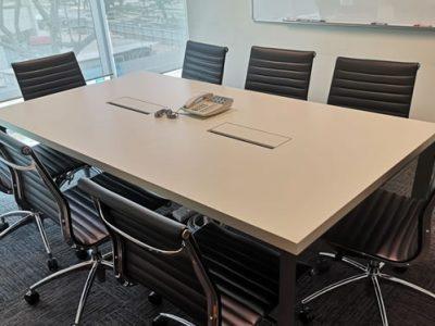 Makino Asia Pte Ltd for Erecon Construction - DE Series Conference Table