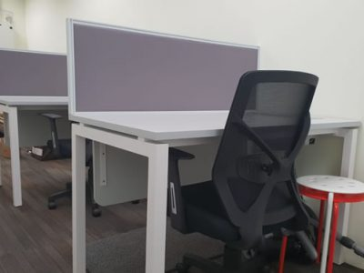 Milteck Industries - AL Series Desktop Panel System Furniture