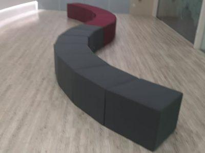 United Carpentry - Customised Reception Bench