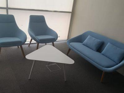 United Carpentry - BA Customised Coffee Table; Customised Armchairs and Sofa