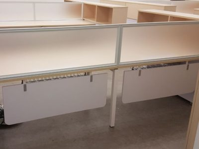 Pan Asia Logistics - AL Series Workstation; Clip-on Frosted Glass Panel