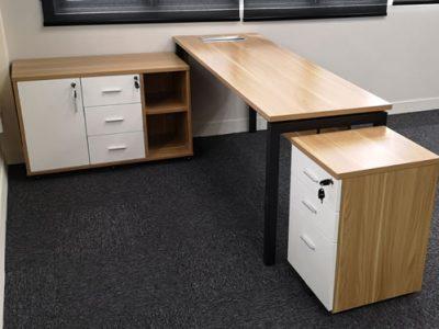 SPCI - AL Series Director's Desk (Movable Side Return)