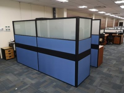 Samlain Additional Works - T40 Full Height Workstations