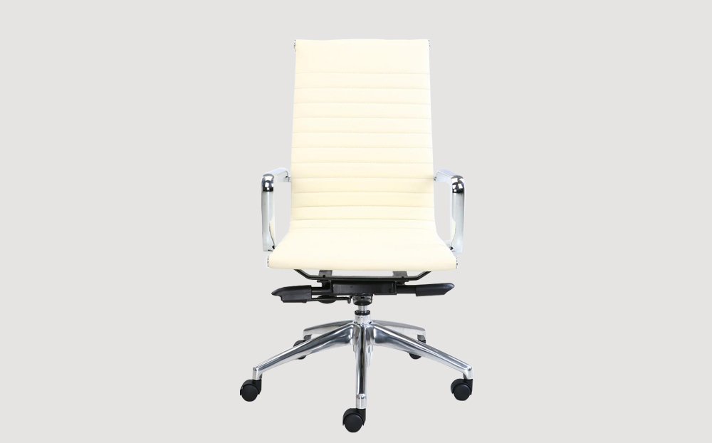 ergonomic mid back office chair chrome frame white seat chrome chair legs