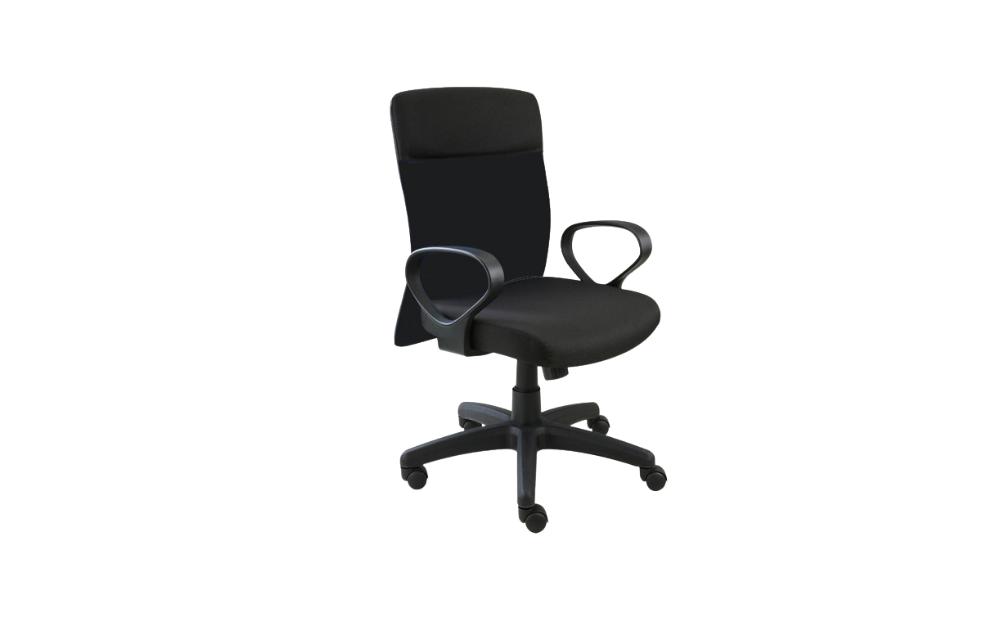 Black Fabric Office Chair C780