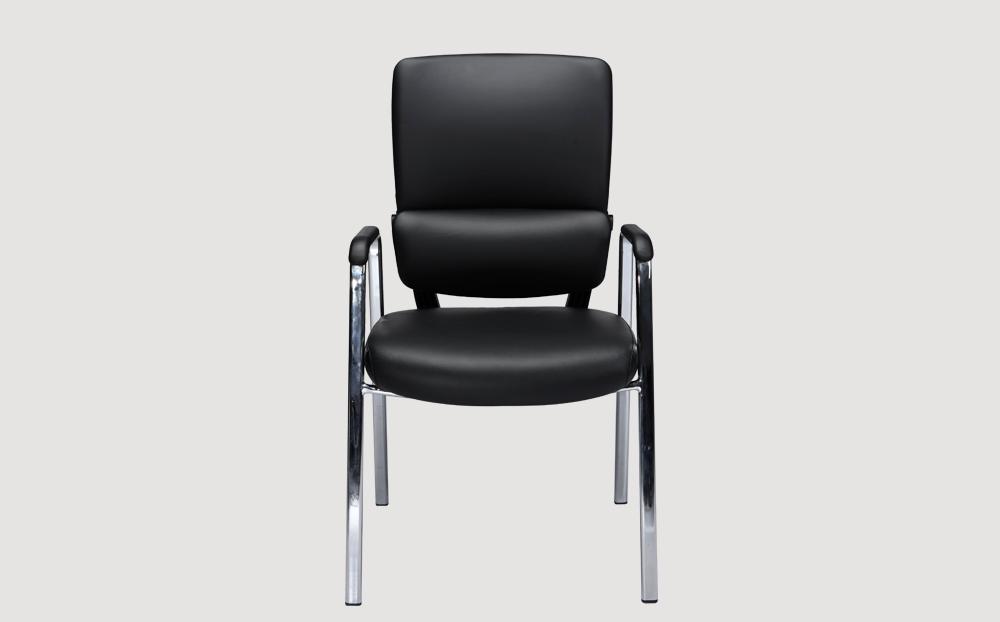 ergonomic mid back office chair black frame black seat chrome chair legs