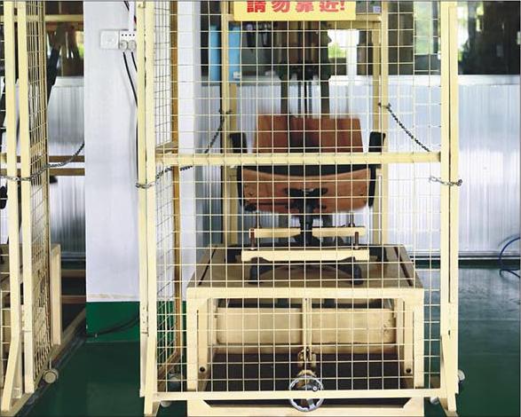 Chair Back Tilt Mechanism Test