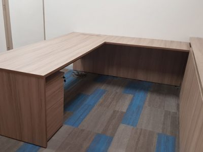 Temasek Poly for Logistics Construction - Free Standing Director's Desk