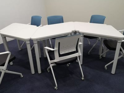 United Carpentry - Harris Conference Table; Owen Office Chairs