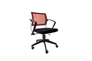 OfficeChair_Austin_LS543_RedMeshBack_StarLegBase_Offitek